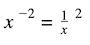 matematikte üs nedir: kesre negatif üs